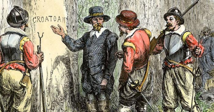 Таинственное исчезновение первого английского поселения. | Фото: historicmysteries.com.